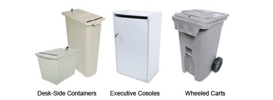 Desk-Side Containers, Executive Consoles, Wheeled Cards